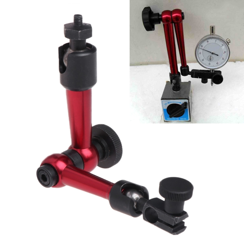 M5 Universal Flexible Magnetic Metal Base Holder Stand For Dial Indicator New