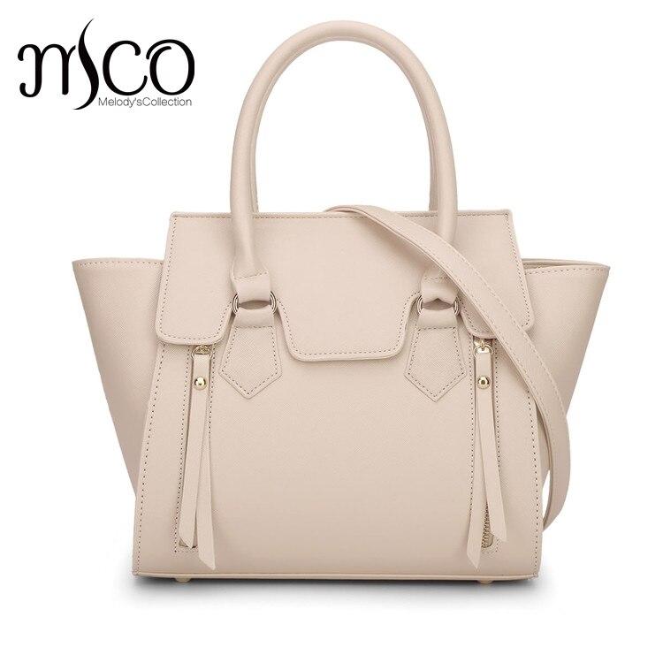 Melodycollection Women PU Leather Shoulder Top-Handle bag bolsa feminina bolsos carteras mujer marca Sacola Tragetasche Handbags кошелек xcsource hasp bolsos carteras mujer bb066 sz