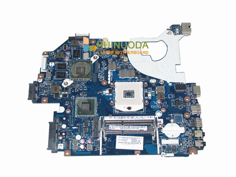 NOKOTION Laptop motherboard for Acer Aspire 5750 5750G MBRCG02006 P5WE0 LA-6901P MB.RCG02.006 GT540M DDR3 Mainboard nokotion laptop motherboard for acer aspire 5551 nv53 mbbl002001 mb bl002 001 mainboard tarjeta madre la 5912p mother board