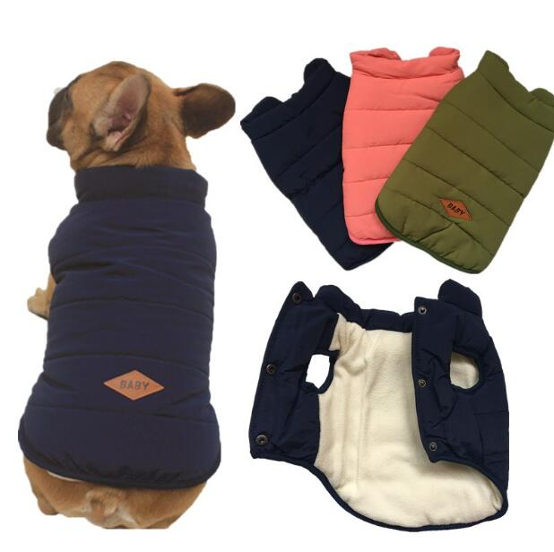 New FRENCH BULLDOG pug dog clothes good quality pet dog coat jacket size XXL ...