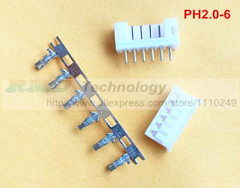 50set/lot PH2.0 2 - 12P 2 mm connector 2.0 mm PH 2.0 2 - 12 pin pins free shipping цена