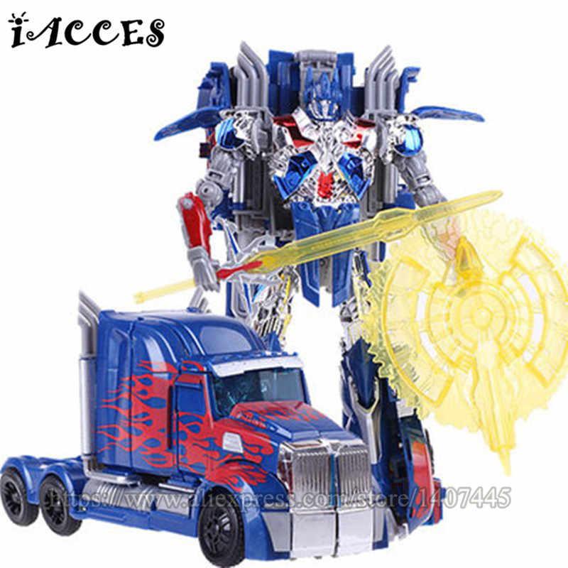 Cool Car Transformação Robot Brinquedos Filme 4 Dragão Menino Figuras de Ação Brinquedos Anime Brinquedos Modelo Juguetes Clássico Presente Das Crianças