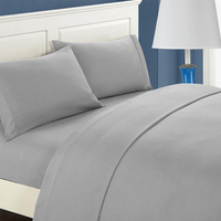 Hotel Luxury Bed Sheet & Pillowcase Set 3/4 Pieces Platinum Collection Deep Pocket,Wrinkle & Fade Resistant Children bed