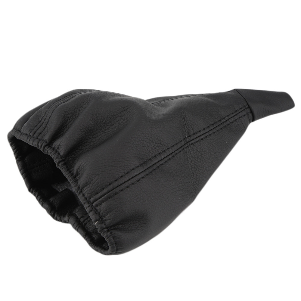 Gear-Shift-Knob-Boot Dust-Cover Car-Gear-Head Universal Black For Vehicle