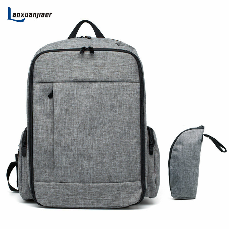 Lanxuanjiaer Baby Diaper Bags For Mom Backpack Maternity Bags Mother Organizer Diaper Nappy nursing handle can hunge on Stroller