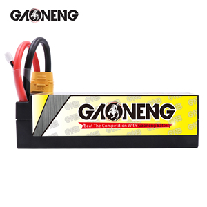 Image 4 - Gaoneng GNB 6500mAh 4S 14.8V 100C/200C Hardcase LiPo סוללה XT90/XT60/דיקני תקע עבור 1:8 1/8 RC רכב ארבעה כונן מחוץ לכביש RC רכב