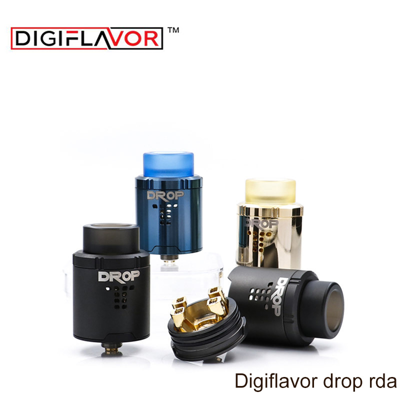 Digiflavor Drop RDA with BF squonk 510 pin 24mm font b electronic b font cigarette tank