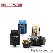 Digiflavor Drop RDA with BF squonk 510 pin 24mm electronic cigarette tank large post-holes Stepped airflow design