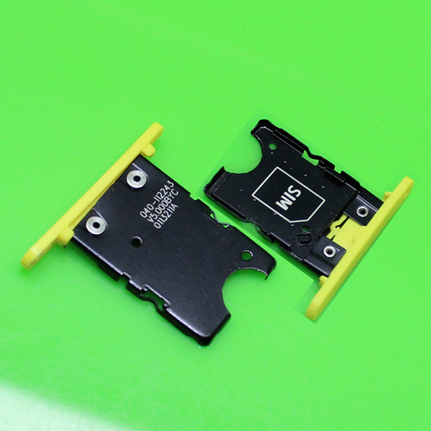 ChengHaoRan 1 Piece Yellow new sim card reader socket for Nokia N1020 slot holder connector.KA-264