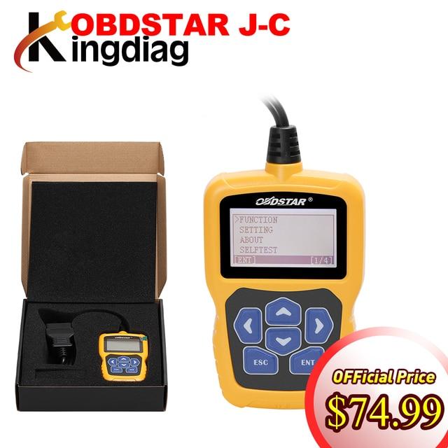 Original obdstar j c pin code calculator immobilizer tool no token.