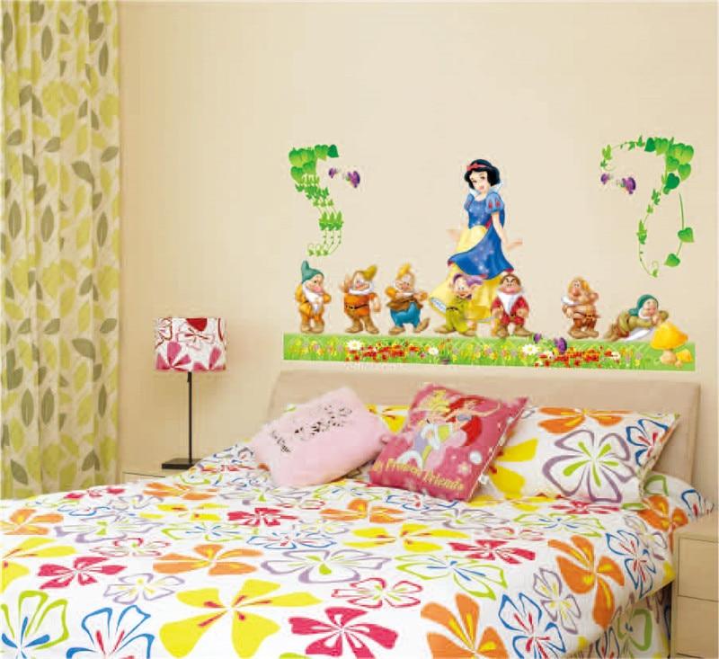 Aliexpress.com : Buy Removable Snow White and the Seven Dwarfs PVC ...