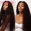 "Kinky Curly U part wig 12""-26"" in stock 180 density Middle part human hair U part wigs for black women Brazilian virgin hair"