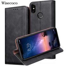 Flip Case Voor Xiao Mi Rode Mi Note 6 4Gb 64Gb Luxe Leather Wallet Stand Card Mobiele Telefoon cover Voor Mi Rode Mi Note 6 Pro Global(China)