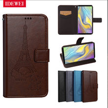 Retro pattern For Funda Bluboo S3 Case Wallet Luxury Flip Leather capa For coque Bluboo S3 S 3 Cover pouch phone back skin bags(China)