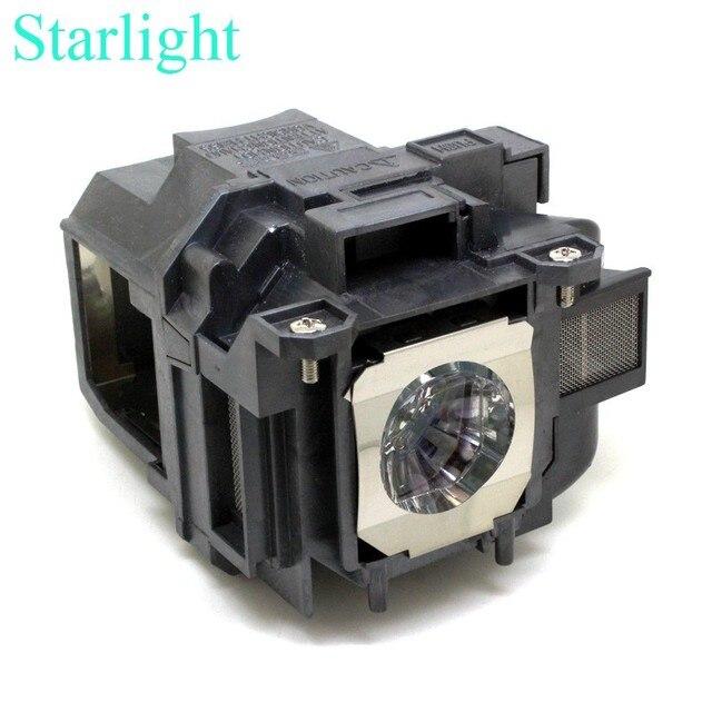 Eb-x03 eb-x18 eb-x20 eb-x24 eb-x25 eh-tw490 eh-tw5200 eh-tw570 ex3220 ex5220 ex5230 projetor lâmpada v13h010l78 elplp78 para epson