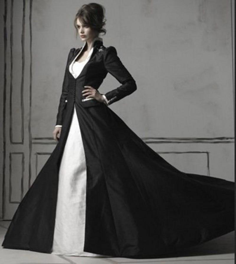 Long evening dress and jacket