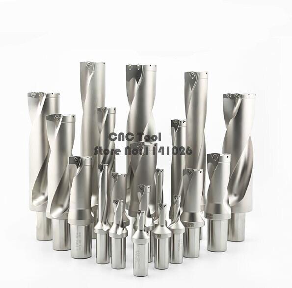 WC SP C32 3D SD 36 36.5 37 37.5 38 38.5mm U drilll et perceuse à grande vitesse utiliser WCMX06T308 inserts pour aléseuse