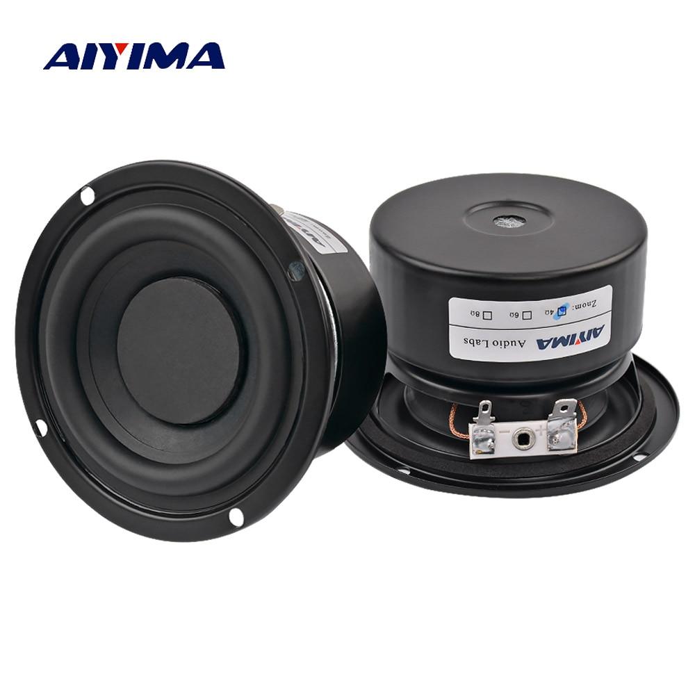 AIYIMA 2 STÜCKE Hochtöner Audio Lautsprecher Tragbare Mini Stereo - Tragbares Audio und Video