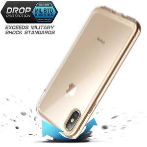 Image 5 - Für iphone Xs Max Fall 6,5 zoll SUPCASE UB Stil Premium Hybrid Schutzhülle Stoßstange + Klar Zurück Abdeckung Für iphone XS Max Fall