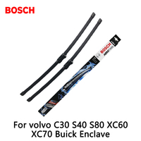 2pcs Lot Bosch Car AEROTWIN Wipers Windshield Wiper Blades Dedicated Wipers For Volvo C30 S40 S80