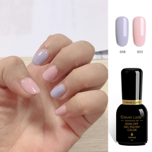 Clever Lady 8g Combination Recommended Uv Led Gel Nail Polish Nail
