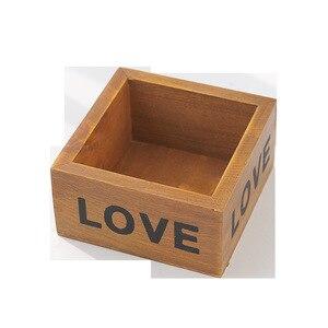 Image 5 - Горшок для садового растения декоративный винтажный сочный плантатор деревянные ящики прямоугольник стол цветочный горшок садовое устройство