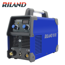 цена на Riland TIG200CE  Digital Inverter Welding Machine Mini 220V portable inverter DC IGBT Welder