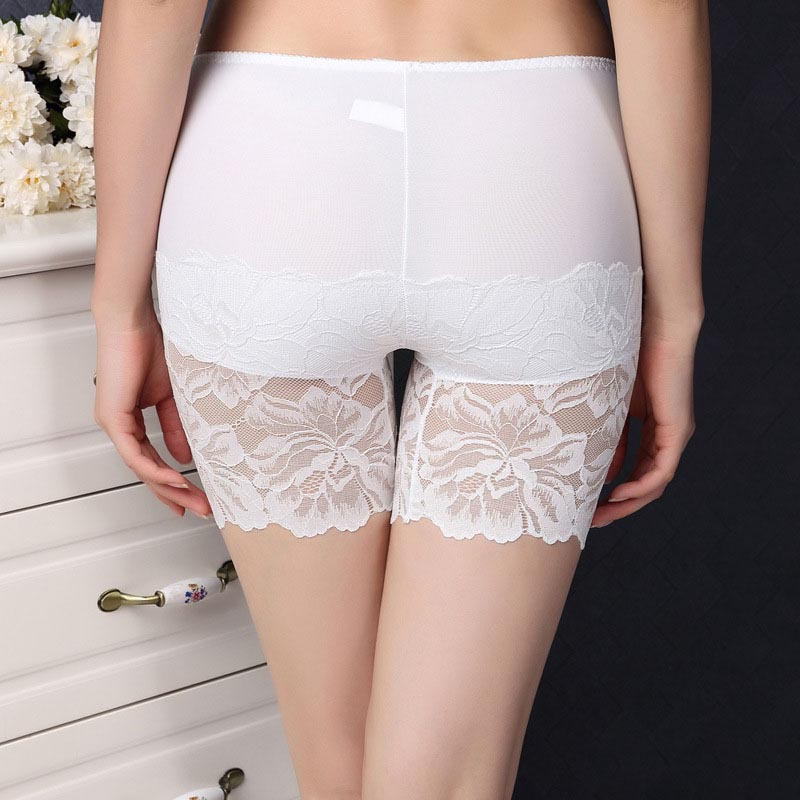 Summer Spring Low Waist   Shorts   High Quality Soft For Woman Breathable Slim Lace elasticity Casual 8z
