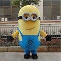 2016 New Style Cartoon Mascot costume Free Shipping! EPE Minion Mascot Costume, Despicable Me Mascot Costume
