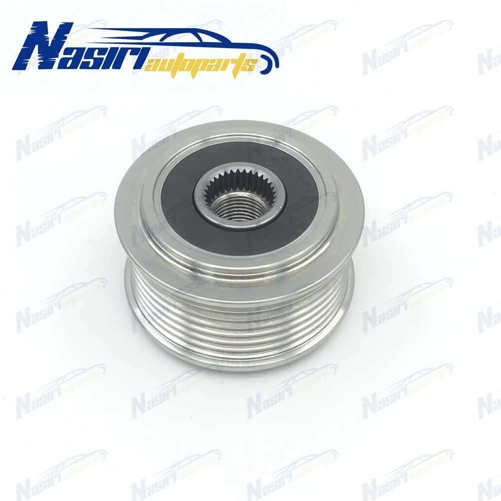 Обгонная генератор шкив муфты для NISSAN NAVARA (D40) 2.5dCi/2.5dCi 4WD PATHFINDER (R51) 2,5 DCi 4WD #535017710 F-552386