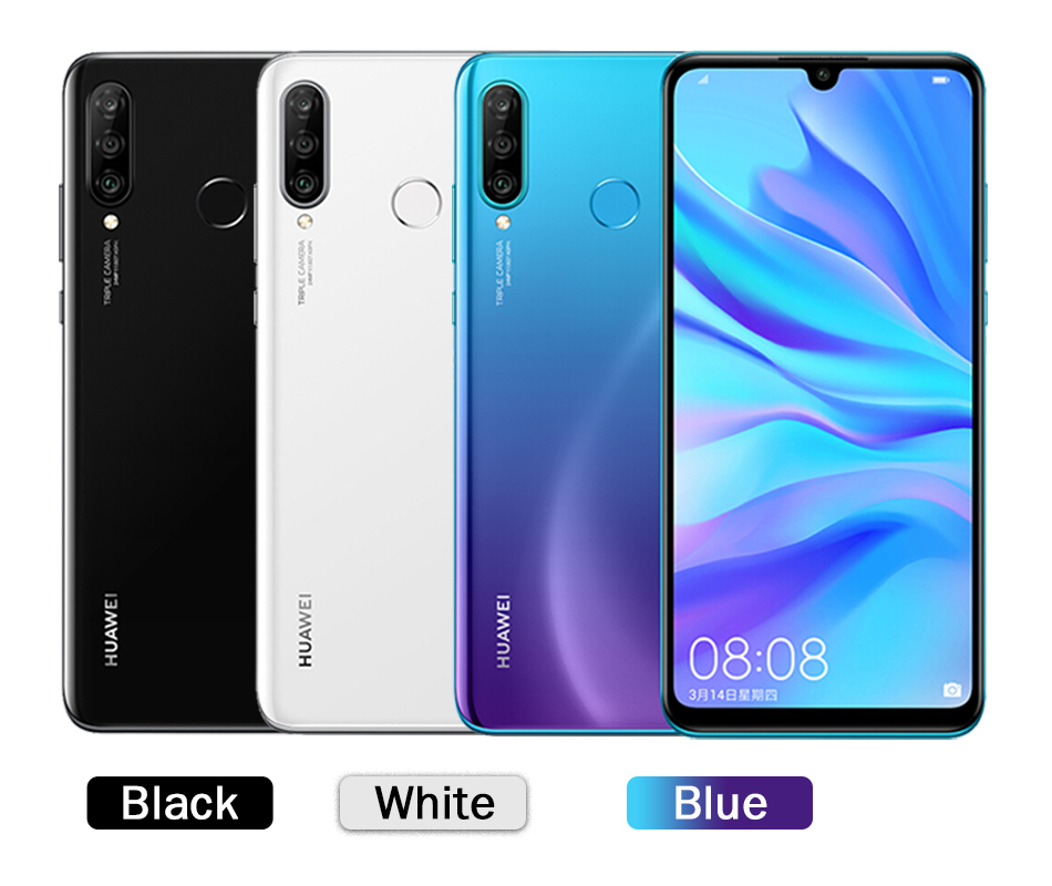 Global Version Optional Original Huawei P30 Lite Nova 4e Smartphone 6.15 inch Kirin 710 Octa Core Android 9.0 32MP 4*Cameras