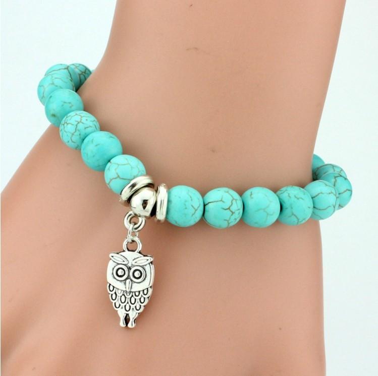 Value Vintage Charms Owl Bracelet