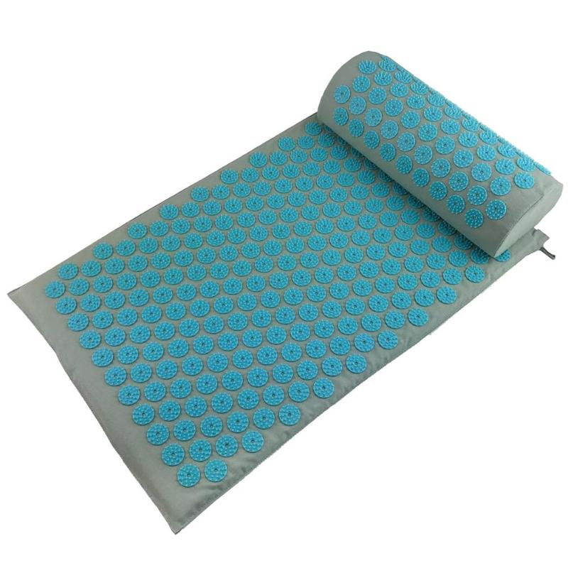 Stress and Pain Relaxing Acupressure Massage Mat with Cushion Set to release Stress and Tension 17