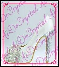 Aidocrystal Neue Frauen High Heel party Wear Fashion Damen peep toe Schuhe große größe 35-44