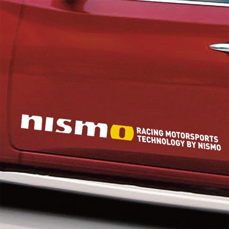 NISMO SPORT Car Stickers Door sticker For Nissan qashqai 2015 juke x-trail tiida note almera accessories