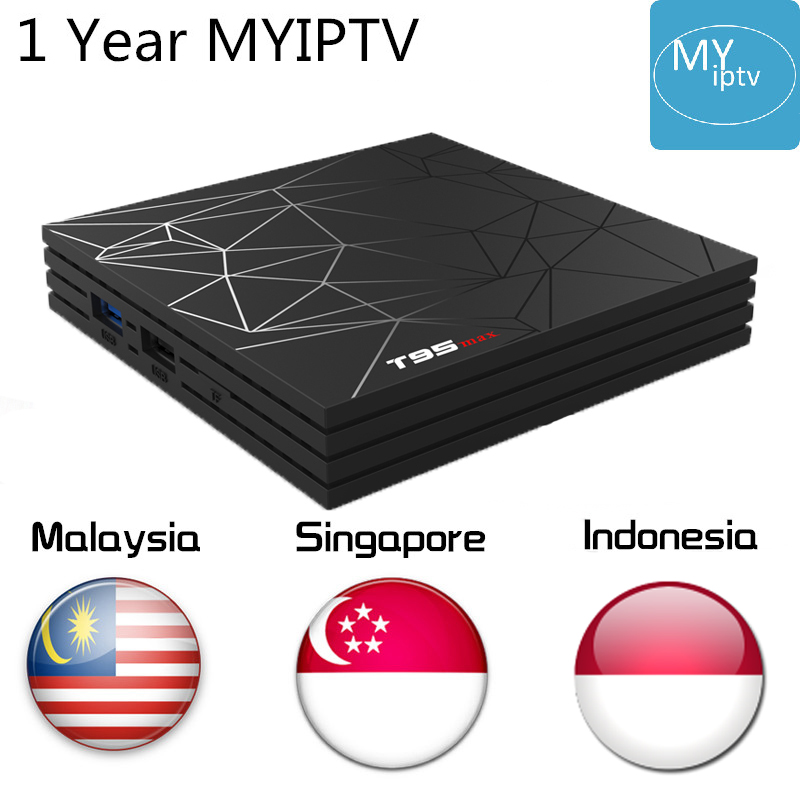 With One Year MYIPTV4K IPTV Subscription Singapore Malaysia Indonesia 190 Channels Android 8 1 Tv Box