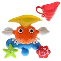 漫画カニ子供風呂シャワーサンディのビーチ子供ベビー夏遊ぶおもちゃw30