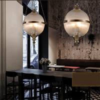 FUMAT Glass Pendant Lights Creative Art Deco Suspension Lamp Living Room Dining Room American Simple Cafe Bar Pendant Lights