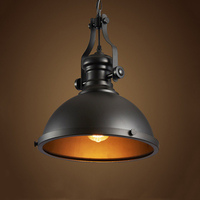 Retro Loft Chandelier Restaurant Dining Room Hotel Aisle Corridor Cafe Lamps Mine Lamp Warehouse Basement Cellar