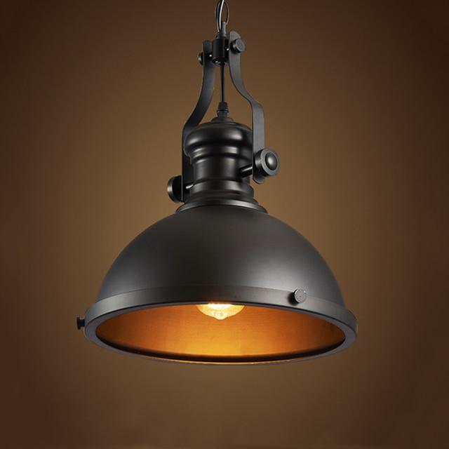 Retro Loft chandelier Restaurant dining room aisle corridor pub Cafe  lamp Mine lamp warehouse basement Cellar pendant lamp