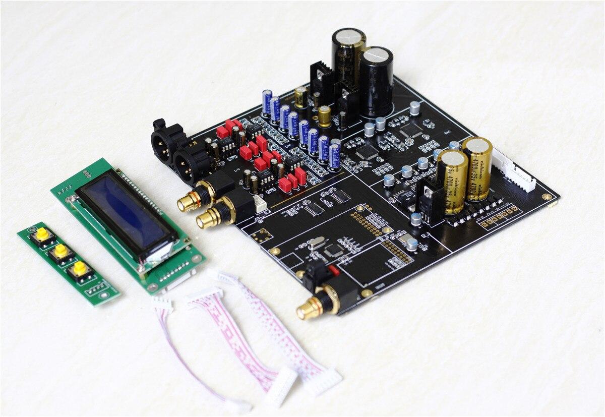 Q7 double AK4497 AK4497EQ parallèle Audio DAC décodeur assemblé carte Support 192 k/24bit DSD256