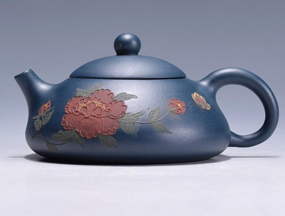 Online buy wholesale green teapot from china green teapot Green tea pot set