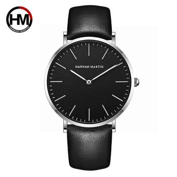 New Japan Quartz Men Wristwatch Fashion Top Luxury Brand Sport Casual Waterproof Watches Genuine Leather Male relogio masculino - DISCOUNT ITEM  50% OFF All Category