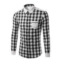 Black white plaid shirt online shopping-the world largest black ...