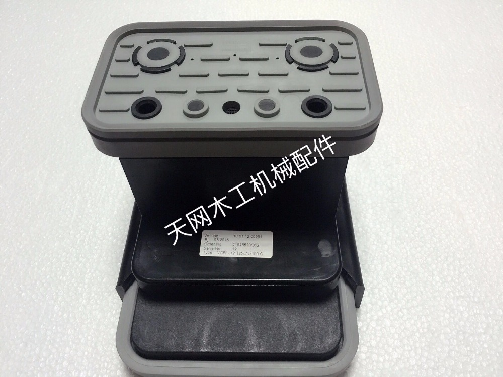 Woodworking Machinery Fittings Imported From German CNC Machining Center Vacuum Suction Rubber 125*75*100