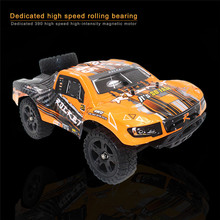 Brush RC Short Course Truck Waterproof High Speed High Intensity Magnetic Motor 1/16 2.4G 4WD RC SUV 1621 Remote Control Toys