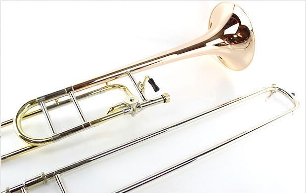High quality genuine Bacha 42BO advanced variable tone midway trombone instrument pull tube phosphor bronze one speaker performa