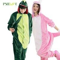 Women S Sleepwear Hot Autumn And Winter Pajamas Cute Animal Cartoon Piece Flannel Pajamas Couple Pajamas