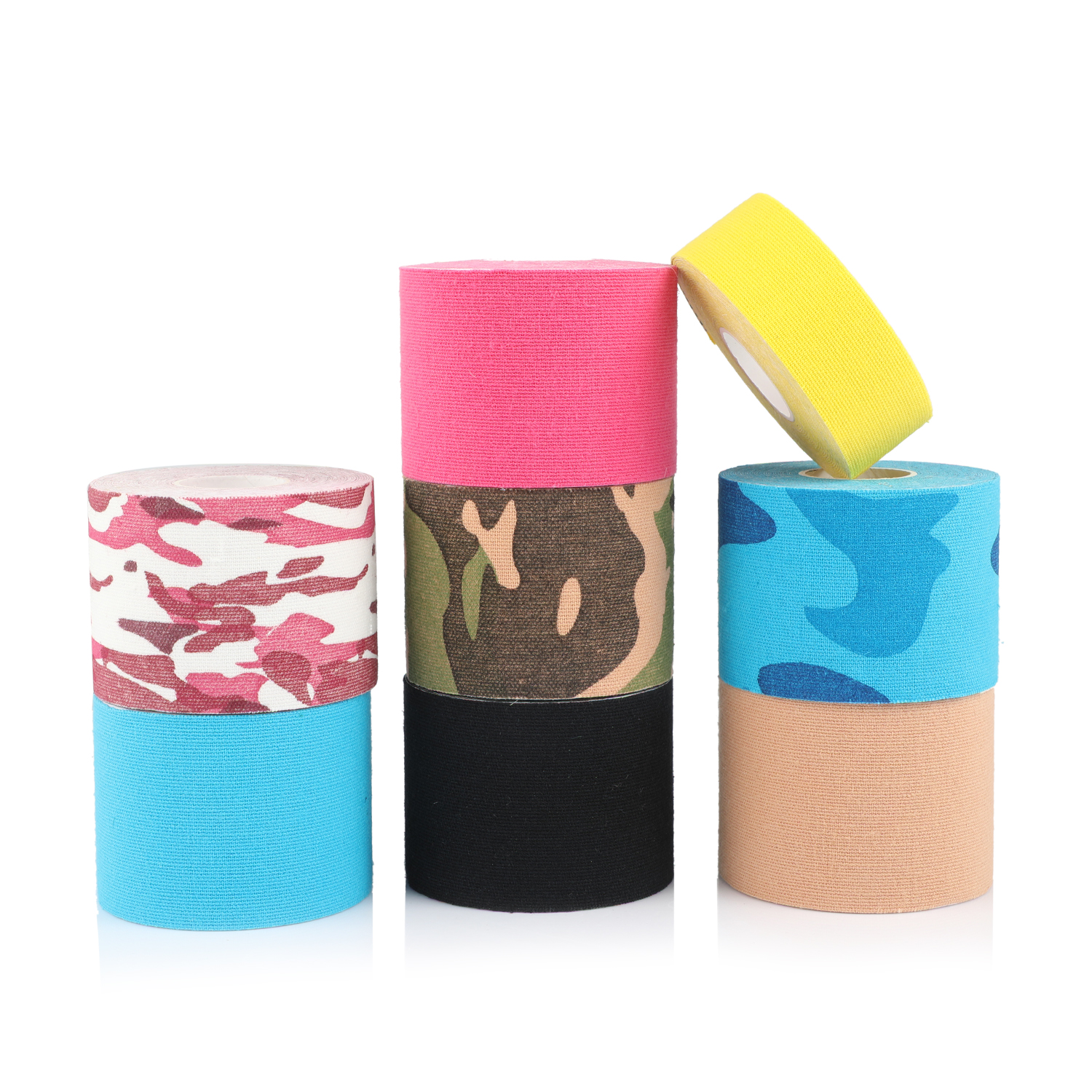 Kinesio Tape 5cm*5m Sports Kinesiology Cotton Adhesive Injury Muscle Tape Strain Protection Taping Bandage Kinesio Kinesiotaping 5cm 5m elastic bandage cotton adhesive kinesio tape sport injury muscle strain protection tape tape kinesiology for sport