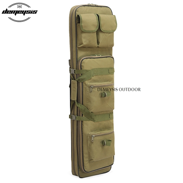 Heavy Duty Airsoft Military Tactical Gun Bag Outdoor Quality Rifle Case Shoulder Backup Pouch for Hunting CS Field Sport 3